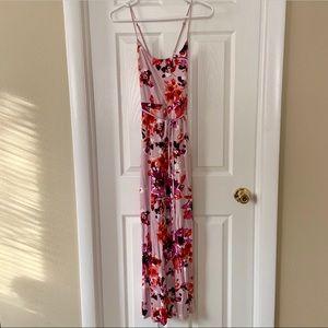 WHBM Floral Maxi Dress XXSP